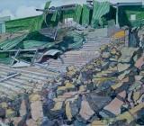 Plymouth Argyle stadium - demolition of Devonport end  (sold)