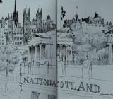 Edinburgh sketchbook