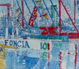 Transat start, Plymouth:  IMOCA 60s   (sold)