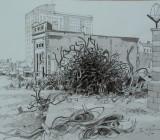 Devonport Enclave: The Bank (saved) during demolition