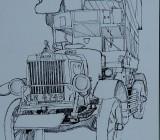 Imperial War Museum (sketchbook)