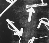 War Horse Drawings, Plymouth: Backstage, floor markings
