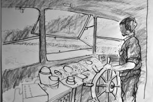 TAMARAMA The River Boat Wheelhouse