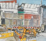 'The Box', Plymouth under construction No 1